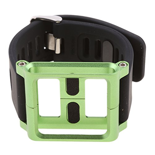 Baoblaze For iPod Nano 6 6th Gen Aluminum Watch Band Replacement Wrist Strap Sport Expansion Bracelet - Green Ipod Nano Apple
