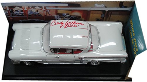 Cindy Williams 1958 Impala American Graffiti White Die Cast Car 1:18 Scale
