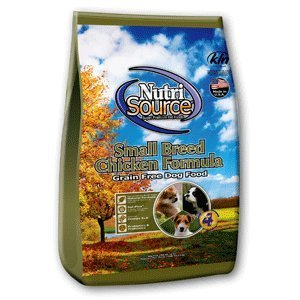 KLNTA NutriSource Grain Free Chicken Small Breed Dog Food 5lb