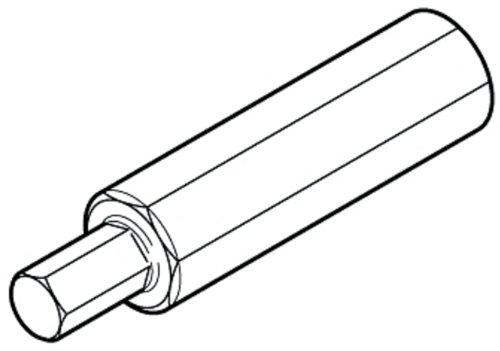 Ultra Torque Crank - Campagnolo Ultra-Torque hex wrench, 10mm, UT-BB110