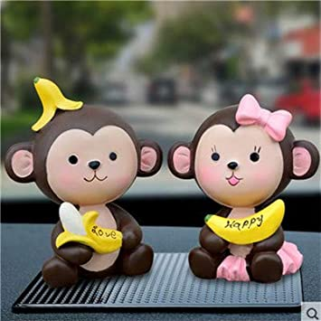Amazon Com Zamtac Modern Simple Monkey Ornaments Creative