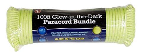 SE PC105GGD55 Glow-In-The-Dark Green 100' x 5/32