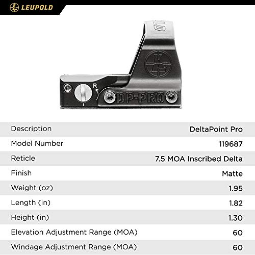 Leupold DeltaPoint Pro Reflex Sight - Import It All