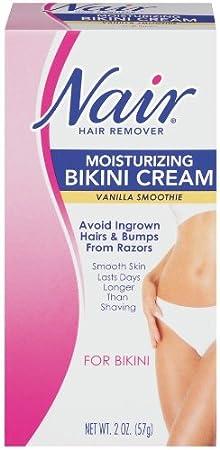 Nair Hair Remover Bikini Creme, Vanilla Smoothie - 2 oz