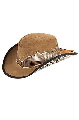 Sierra Suede Breezer Cowboy Hat by Overland Sheepskin Co