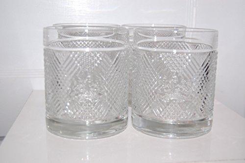 Ralph Lauren Safari Double Old Fashioned DOF Glasses - Set of 4 (Ralph Lauren Barware)