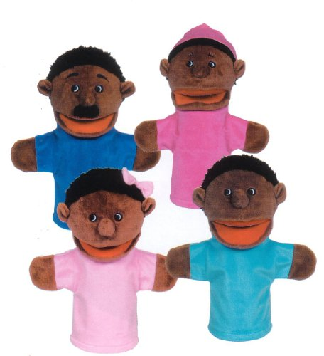 Search : Get Ready Kids African American Family Puppets