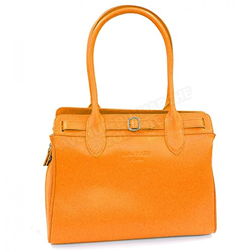 Naranja De Bandolera Francesa Para Piel Fabricación Bolso Nathalie 8A7qPw