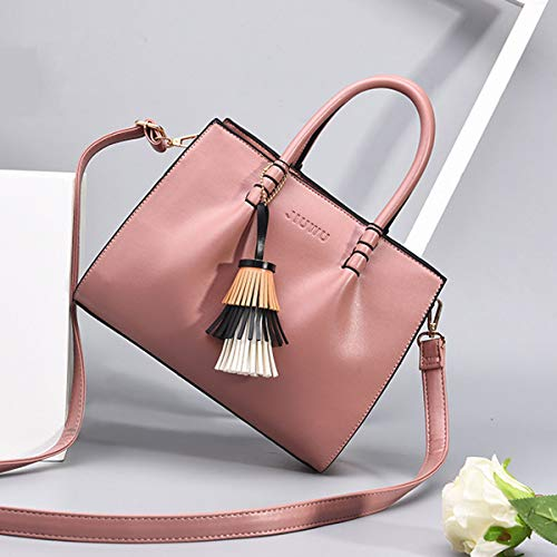 En Pink Femmes Classiques Out Sacs Dames Exull Pour Cuir Élégants À Bandoulière 1365 Main Fourre Élégantes Pu qxAaEFU