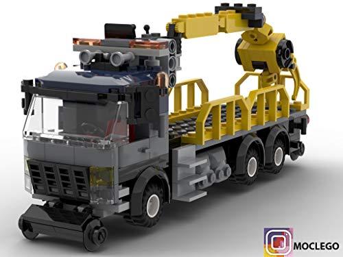 Amazon com: Wood Crane Train (Instruction Only): MOC LEGO