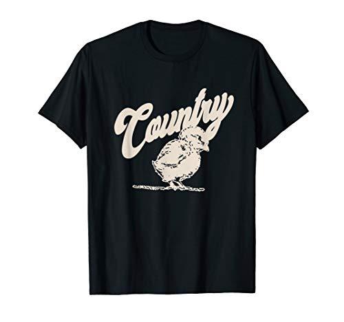 - Country Girl Chicken T-Shirt Gift For Women