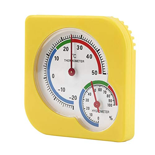 WS-A7 Mechanical Hygrometer Indoor Outdoor Mini Wet Hygrometer Humidity Thermometer Temperature Measuring Tool Bonniday