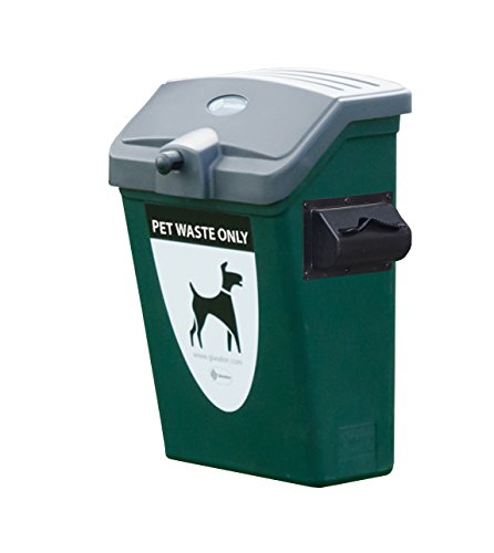 (Fido Pet Waste Station - Green or Red - Wall or Post Mounting Kit - Plastic - 1000 Dog Waste Pick up Bags - 7 gallons (Green, Wall-Mounting Kit))