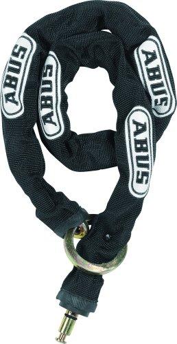 Abus Fahrradrahmenschloss 4850 Chain 6KS100 loop, schwarz, 100 cm