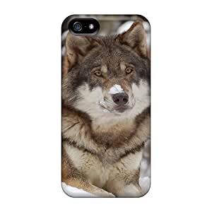 Hot Tpu Cover Case For Iphone/ 5/5s Case Cover Skin - Nanook This Wolfs For You