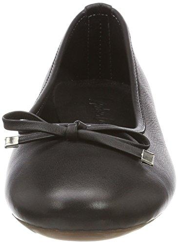 Toe Women's 0025812 Andrea Flats Ballet 002 Black Closed Conti Schwarz agwwI