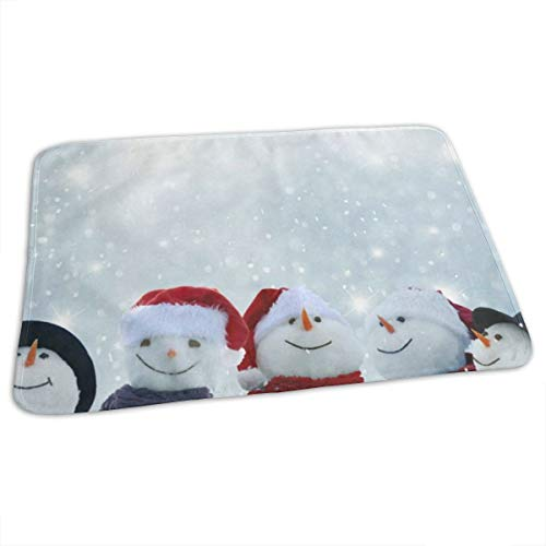 Changing Pad Christmas Winter Snowmen Baby Diaper Urine Pad Mat Special Adults Mattress Sheet Protector Sheet for Any Places for Home Travel Bed Play Stroller Crib Car
