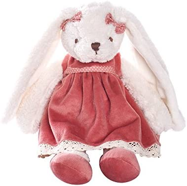 Best Toys 2020.Dilly Dudu 2020 Holiday Plush Bunny Rabbit Stuffed Animal Soft Toys Cuddly Dolls Best Gifts 12 Inch Pink