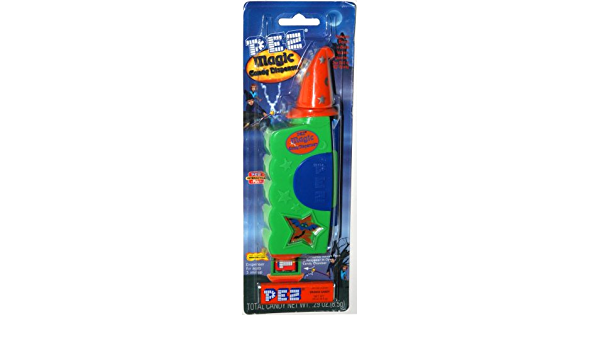 PEZ Magic Candy Dispenser ~ Green /& Orange ~ MINT ON CARD