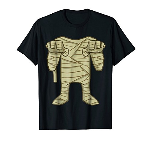 Mummy Halloween Costume DIY T-Shirt - Boys Girls Shirts