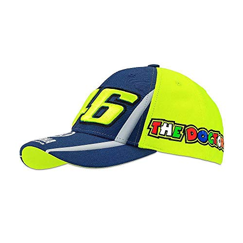 (Kid Cap Yamaha VR46 The Doctor Official Valentino Rossi 46)
