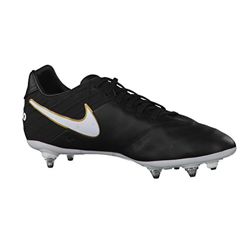 819223-010| Nike Tiempo Mystic V SG - Black/white - 42 US 8,5