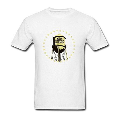 XLHL6OJ Mens 2016 World Tour Concert North Mississippi AllStars Short Sleeves T shirt