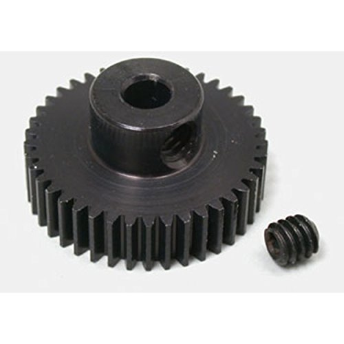 64p Pinion - Robinson Racing Products 64P Hard Coated Aluminum Pro Pinion Gear, 41T, RRP4341