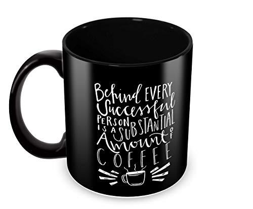 Tuelip Printed Quotes About Success of Coffee Ceramic Tea and Coffee Ceramic Mug, 350ml, White Price & Reviews