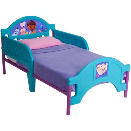 Delta Disney Doc McStuffins Toddler Girls Plastic Bed - Jardine Crib Conversion Kit