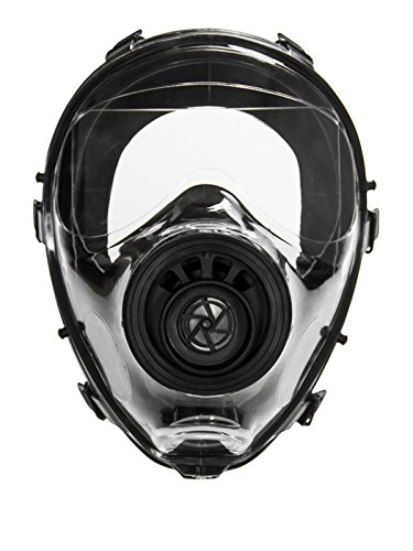 Mestel Safety - Full-face Gas Mask, Anti-Gas Respirator Mask - Resistant to Chemical Agents and Aggressive Toxic Substances - Suitable for Pesticide and Chemical Protection - SGE 150 -