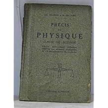 Précis de physique pesanteur, chaleur