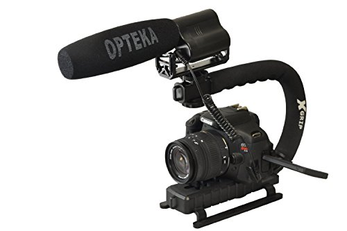 Opteka X-GRIP Action Stabilizing Handle with VM-100 Video Co