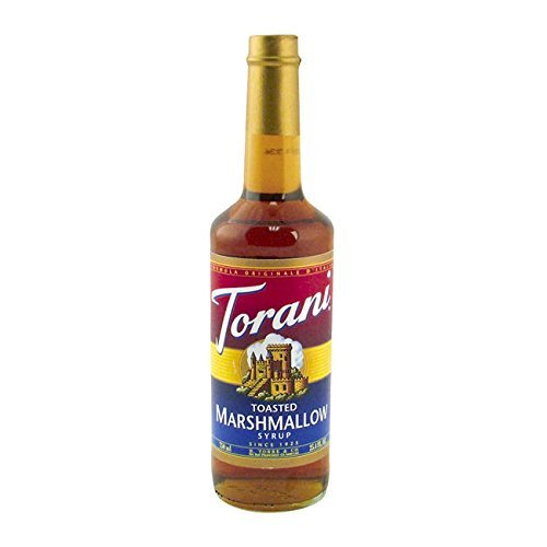 Torani Toasted Marshmallow Syrup Plastic Bottle, 750 ml