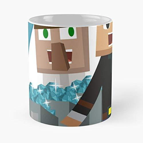 Minecraft Youtuber Dantdm Tdm Ceramic Coffee Mugs, Funny Gift]()