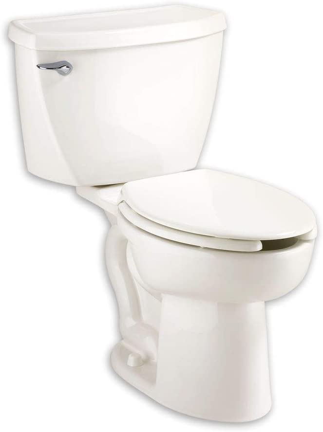 American Standard 2467100.020 Cadet 1.6 GPF 2-Piece Elongated Toilet with 12-In Rough-In, White