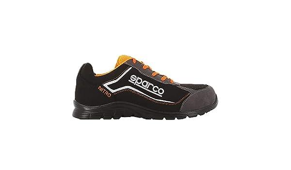 Zapato SPARCO S3 SRC Nitro RSNR Negro/Naranja: Amazon.es: Zapatos y complementos