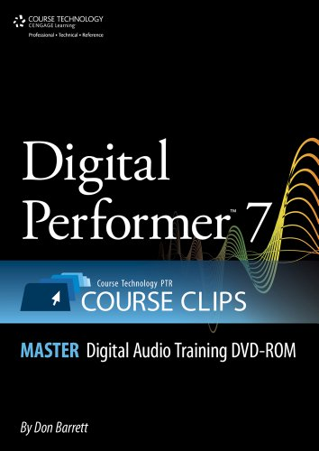 Digital Performer 7 Course Clips Master