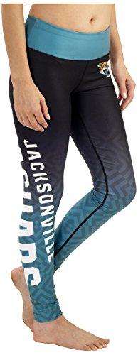 Jacksonville Jaguars Gradient Print Legging - Womens Medium