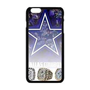 DAZHAHUI Dallas Cowboys Fashion Comstom Plastic case cover For Iphone 6 Plus