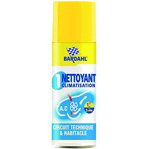 Bardahl Nettoyant Climatisation Aé rosol 400 ML METAL 5