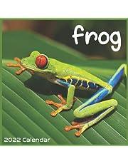 Frog 2022 Calendar: Official Frog Amphibian Calendar 2022, 16 Months