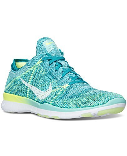 nike-womens-free-tr-flyknit-running-shoe-9-bm-us-hyper-turq-energy-ghost-green-white