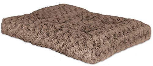 Ombre Mocha Swirl Fur Dog Bed