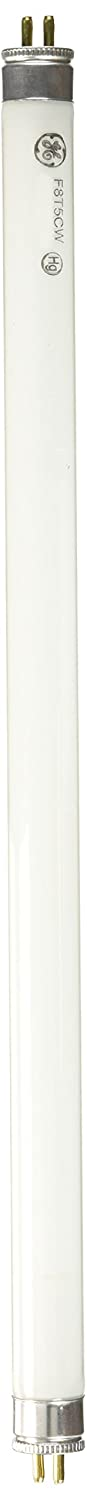 GE 15987 8-Watt 12-Inch T5 Fluorescent Light Bulb, Cool White (1 Light Bulb)