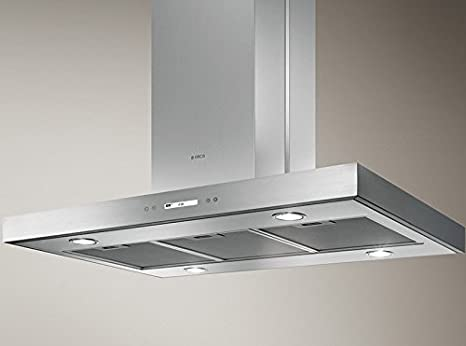 Elica extractor hoods island kitchen hood Trendy Island PRF0100078: Amazon.es: Hogar