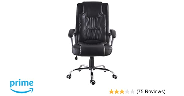 amazon com mcombo exacme high back leather executive office chair