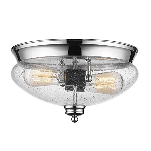 Z-Lite 722F2-CH 2 Light Flush Mount 2 by Z-Lite (Image #1)
