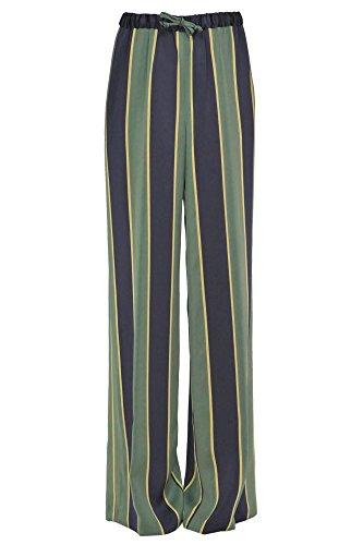 DRIES VAN NOTEN Women's Mcglpnp02037i Blue/Green Viscose - Shop Dries Van Noten