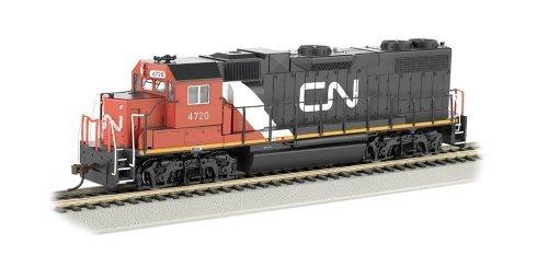 - Bachmann Industries Emd GP38-2 HO Scale #4722 Diesel Canadian National Locomotive